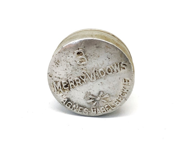 Condom Tin 3 Merry Widows Antique Aluminum Tested Prophylactic Vintage Apothecary Container Safe Sex Etsy Dudes