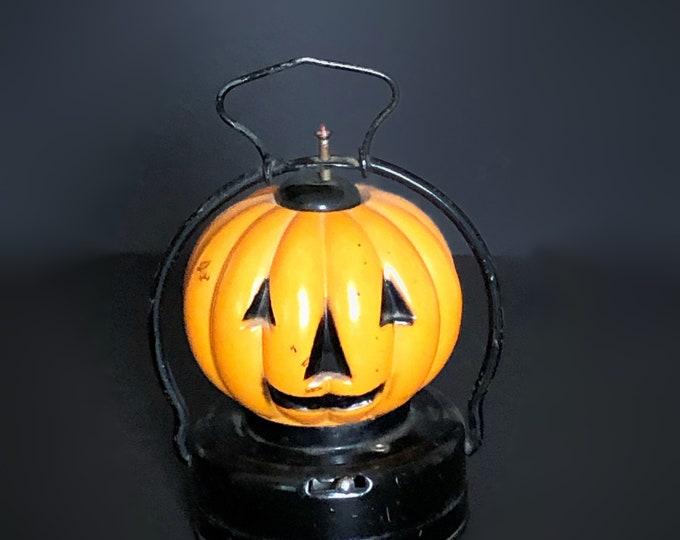 Vintage Halloween Jack-O-Lantern Battery Operated