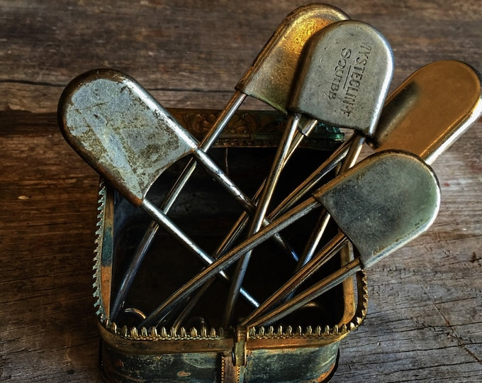 Giant Safety Pin Laundry Locker Keychain Instant Collection