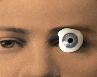 Glass Eye Ocular Prosthesis Vintage Prosthetic Eyeball
