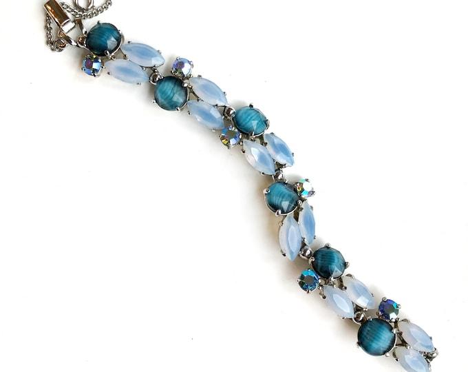 Vintage Elsa Schiaparelli Blue Bracelet