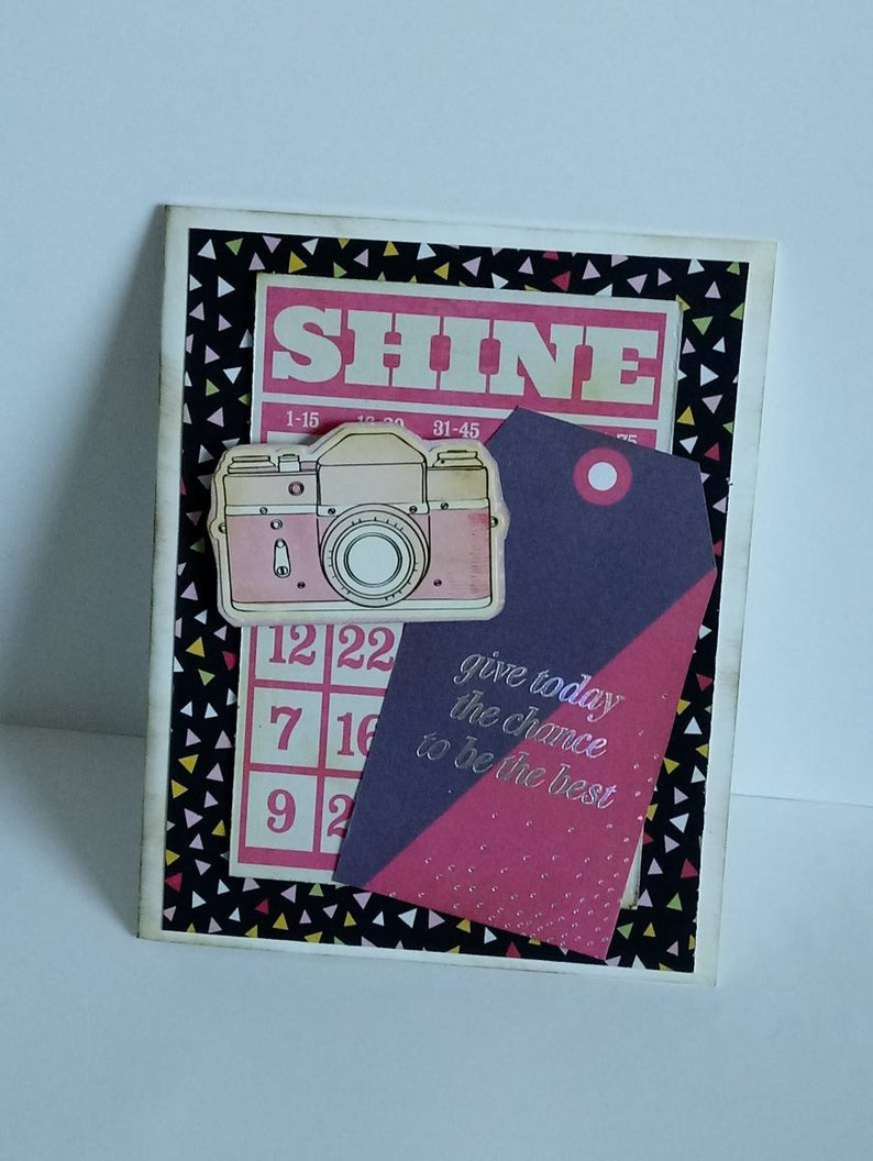 Be the Best Handmade Card  Birthday Card Congratulations Thinking of You