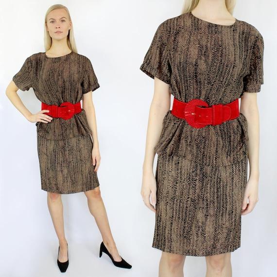 4f4f6f4d1 Tiger print silk set / animal print silk / silk top and skirt | Etsy