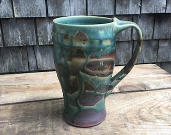 Travel Mug in Turquoise 16 ounces