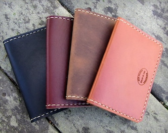 Mens Leather Wallet, Leather Card Wallet, Double Card Leather Wallet, Custom Leather, Front Pocket Wallet, Simple Wallet, Gift For Him