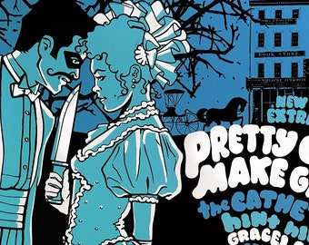 Pretty Girls Make Graves / Catheters poster by Shawn Wolfe