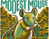 Modest Mouse poster by Sh...