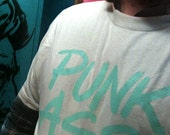 PUNK ASS tee by Shawn Wol...