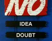 No: Idea, Doubt, Wonder s...