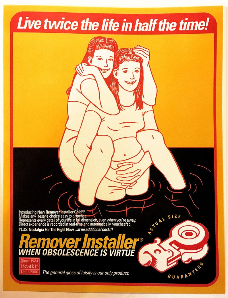 Remover Installer® poster by Shawn Wolfe 1999 image 0