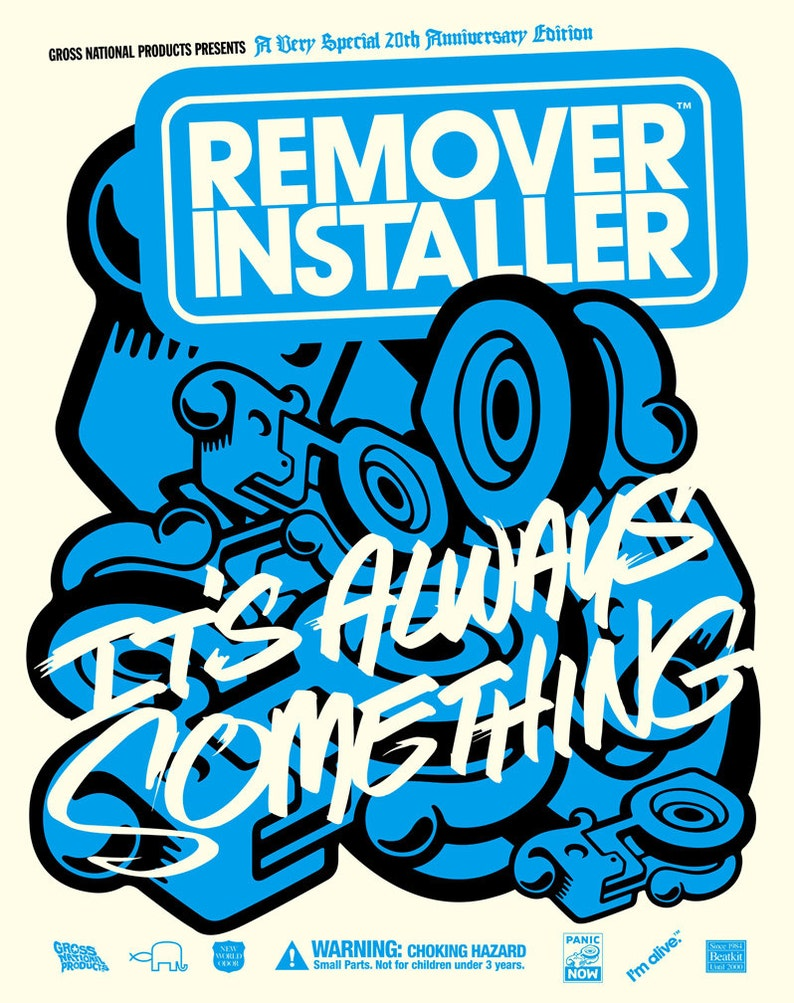 RemoverInstaller poster by Shawn Wolfe image 1