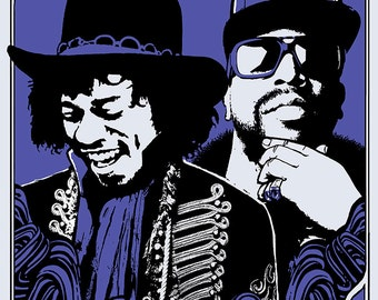 Outkast poster Sasquatch Festival 2014 by Shawn Wolfe