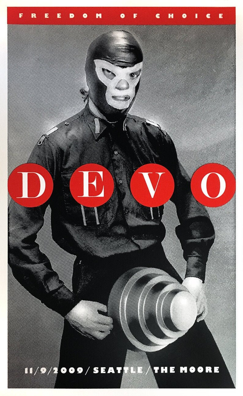 Devo The Moore Theater Seattle 2009 by Shawn Wolfe image 1