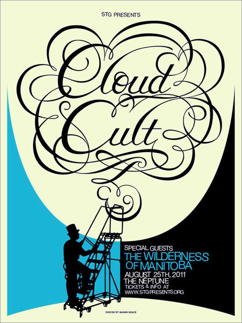 Cloud Cult poster by Shawn Wolfe image 0