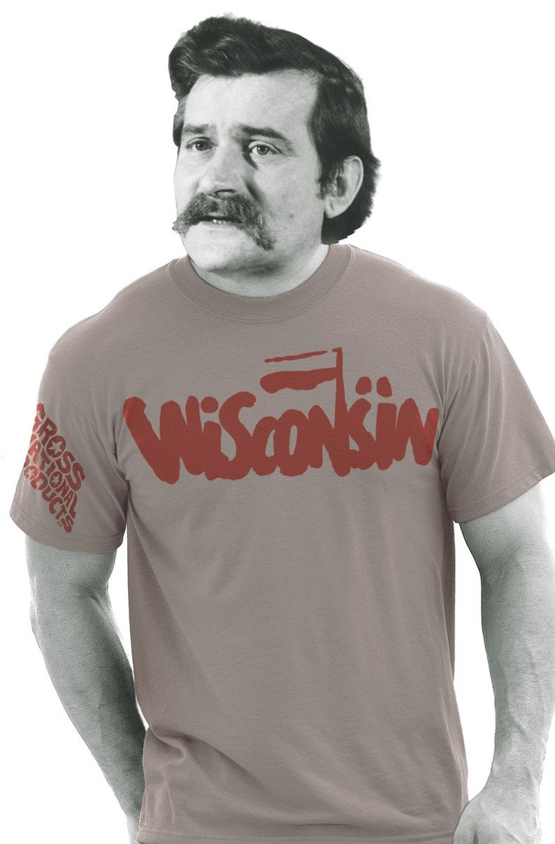 Wisconsin Solidarity tee by Shawn Wolfe image 0