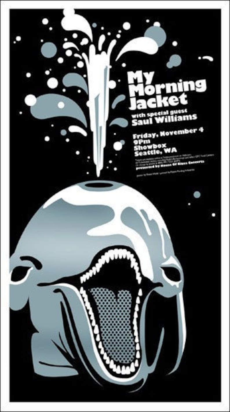 My Morning Jacket poster by Shawn Wolfe image 0