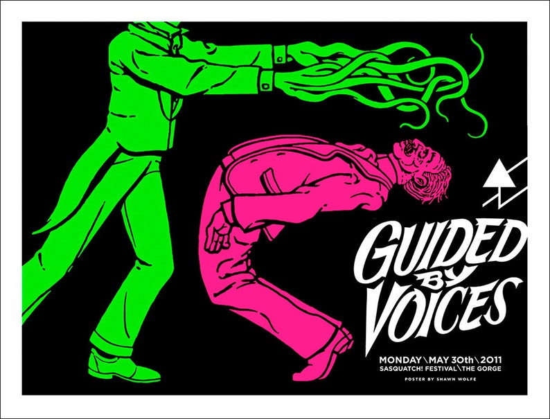 Guided By Voices poster by Shawn Wolfe image 0