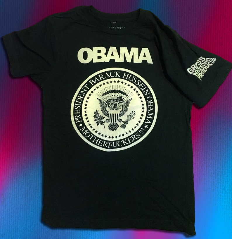 OBAMA 2008 TEE by Gross National image 1