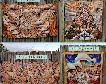 Tapestry Derp-art-mint