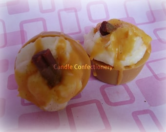 Caramel Cinnamon, Latte Coffee Melts, Soy Bakery Tarts, Flameless Candles, No Wick Candles, Super Strong Scent, Fall Autumn Scent