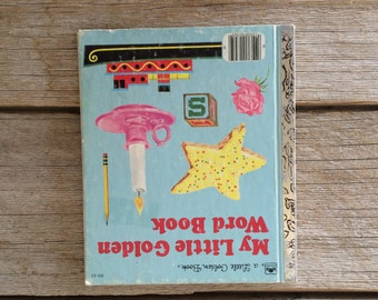 A Little Golden Book, My Little Golden Word Book