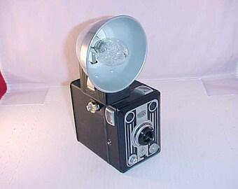 Bilora Box Camera With Flash Attachment