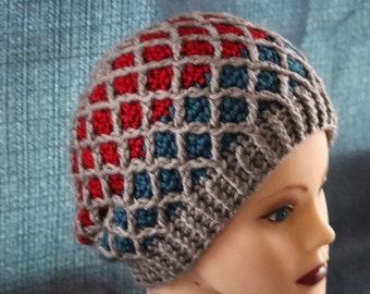 Lattice Slouch Hat