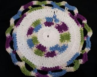 Round Dishcloths - 10 Pack