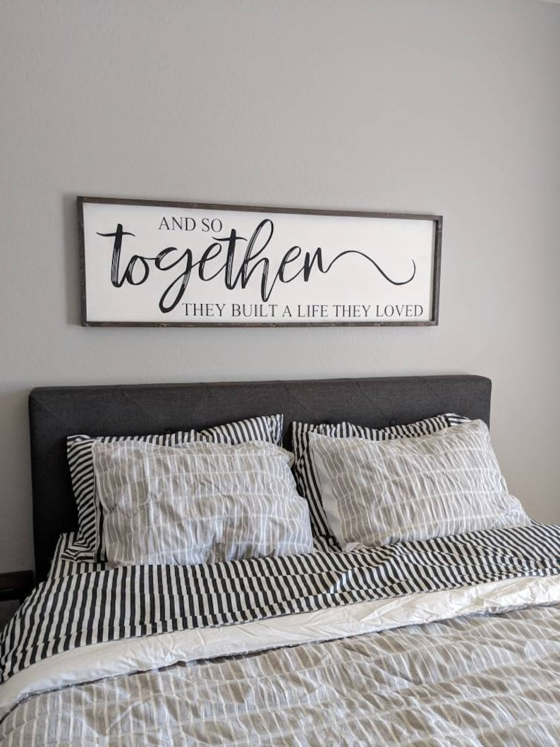 wood signs for wedding gift