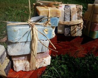 Organic natural soap Sampler gift set