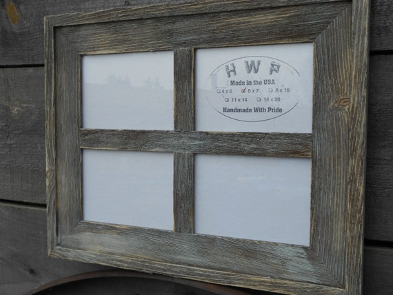 Rustic Barn Board Window Frame Handmade Handcrafted Barn Wood Etsy
