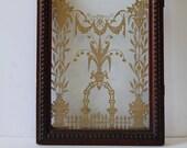 Antique mantle clock glass door junk salvage repurpose restoration supplies