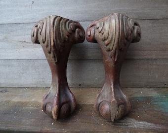 Claw Feet Table Legs Etsy