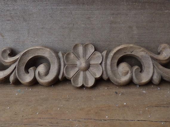 Applique wooden pantry doors raised panel antiqued appliques