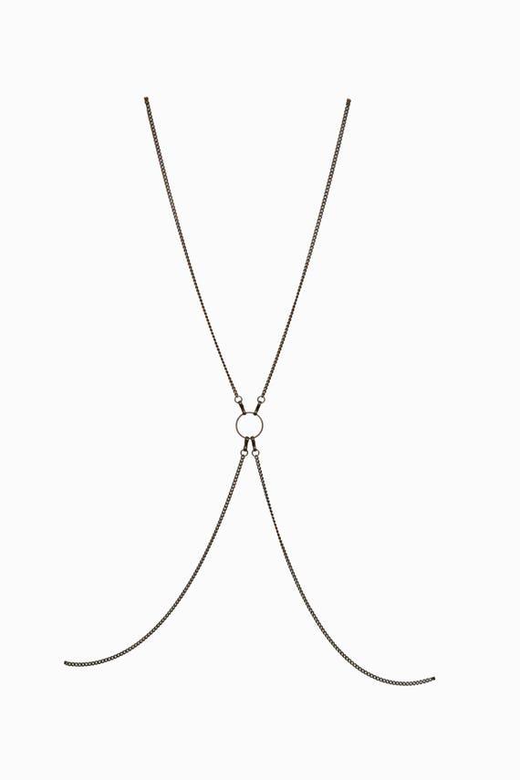 3a619f126dd54 ... best price pandora convertible body chain unisex harness necklace 4b3f7  bba23