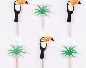 Toucan Candles pack 5