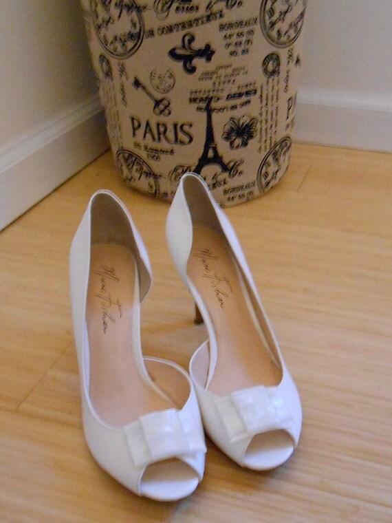 Vintage Abalone Beach Wedding Shoe Clips