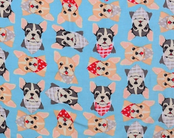 Chihuahuas in scarves flannel pajama pants custom made to order your choice size XS - 2X