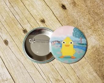 Ducky Momo Button
