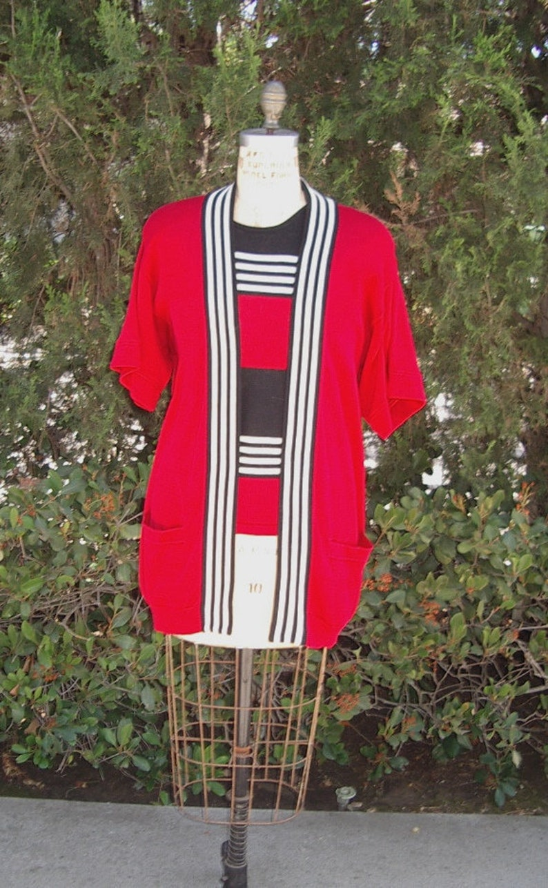67c5d1171 ANNE KLEIN Summer Sweater Set Cardigan  Sleeveless T Top
