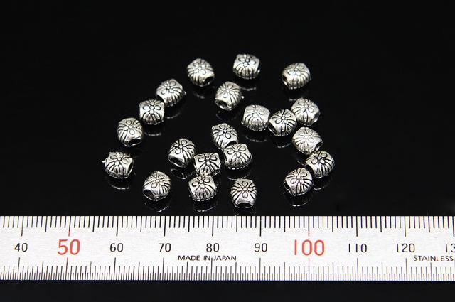 10pcs(JC-0086) charme - charme 10pcs(JC-0086) pipe en argent sterling taille 5,69 par 5.57mm 09b937