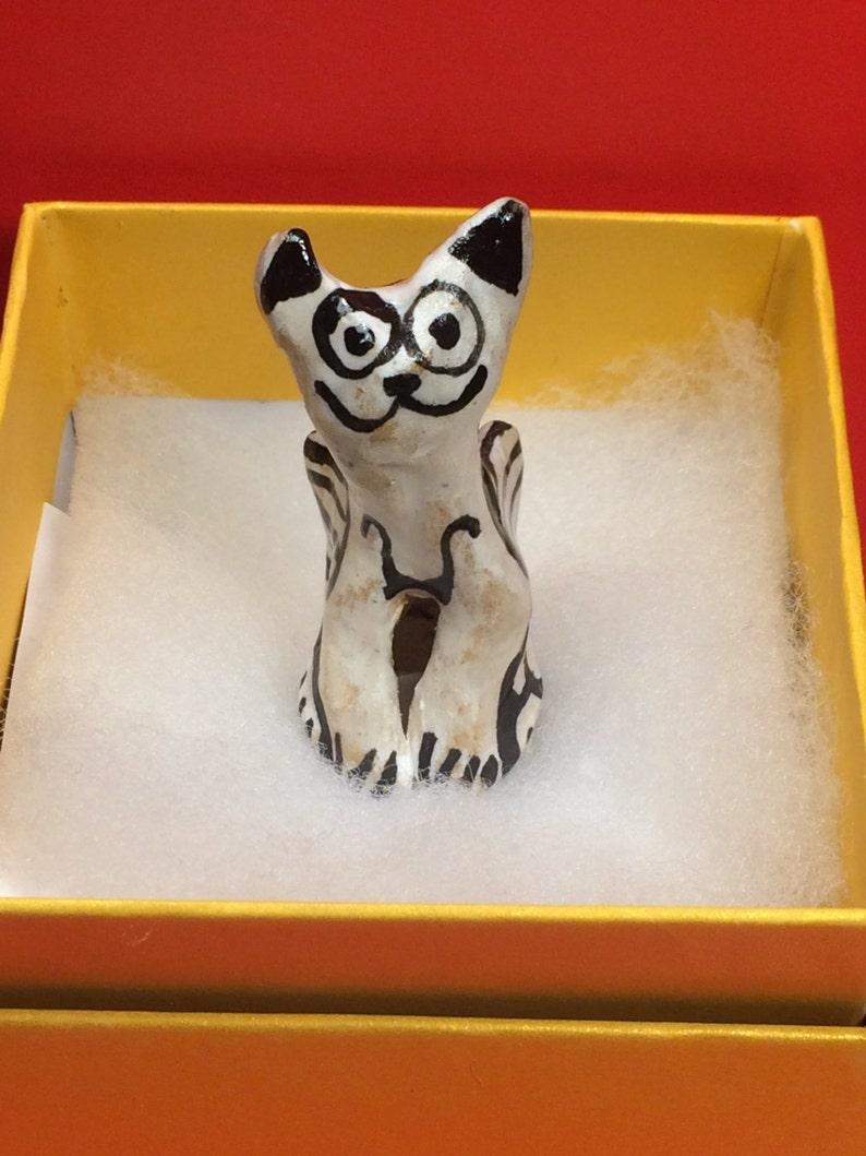 Angel Cat #6 flying ornament  /& gift box