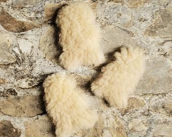 Mini Lambskins, Tunis Pelts, Washable