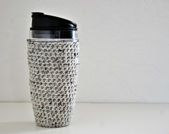 Blender Cup Cozy Crocheted Holder 24 oz Size Eco Friendly Reusable Cover Nutri Ninja