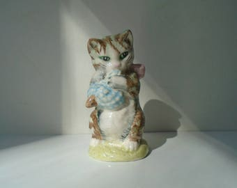 Genteel Beswick White Cat Ornament Old Beswick Pottery