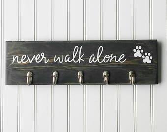 Leash and Collar Hooks, Dog Leash and Collar Hanger, Dog Leash Holder, Leash Organizer, Dog Leash Hanger, Pet Room Decor, Dog Organizer