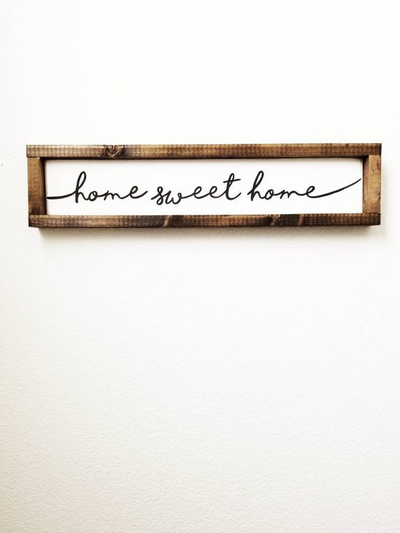 Home Sweet Home Housewarming Gift New Home Gift Typography image 0