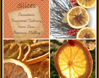 Dried Orange Slices Etsy