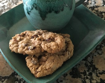 Oatmeal Cranberry Cookies, Food Gift, Oatmeal Cookie, Cherry, Raisin, Dried Cranberries, Homemade Baked Goods, Hostess Gifts, 1 DOZEN