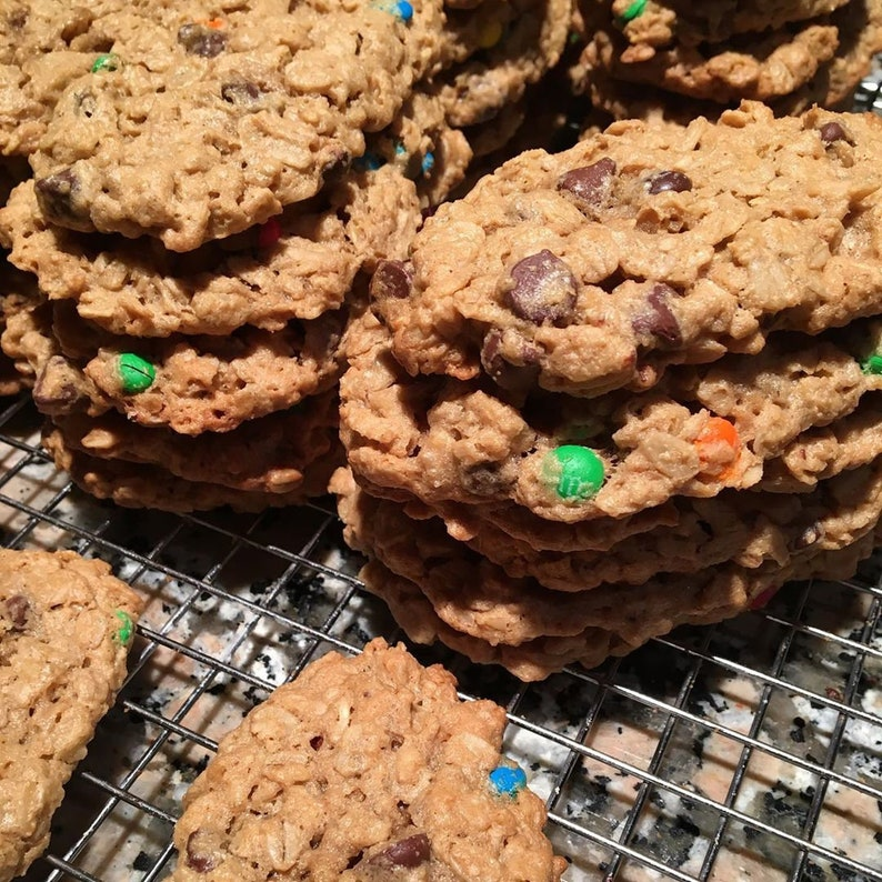 Monster Cookies Edible Gift Homemade Chocolate Chip image 0